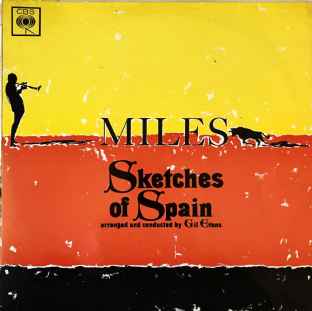 Miles Davis ‎- Sketches Of Spain  (LP) (G++/G++)